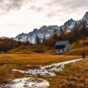 Walking at Alpe Devero by birba