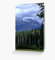 Mt. Robson Park (1) Greeting Card