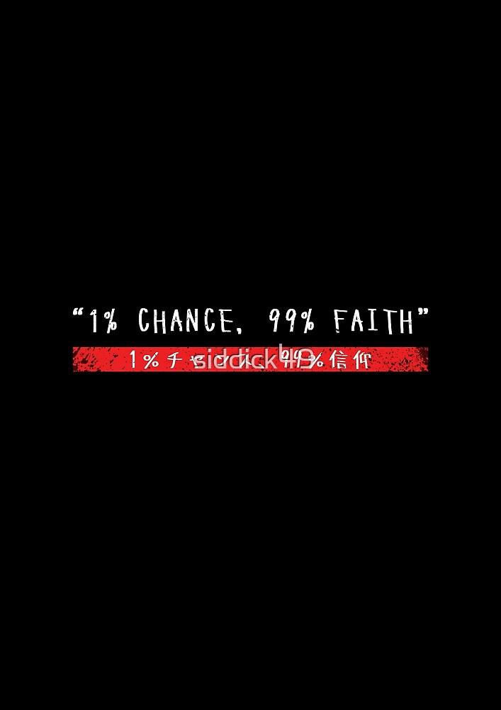 «Oportunidad y fe» de siddick49