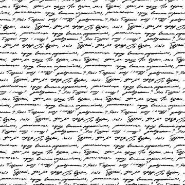 Handwriting background seamless pattern grunge letters words by amovitania