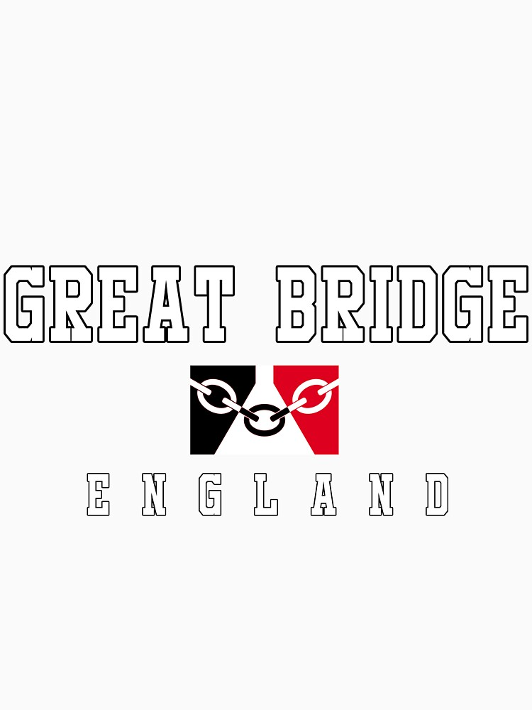Great Bridge - Black Country Flag by danbadgeruk