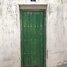 Green Door #7 by Tom  Reynen