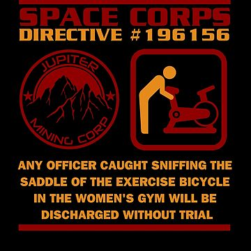 JMC Space Corps Directive #196156 Sniffing the Saddle by McPod