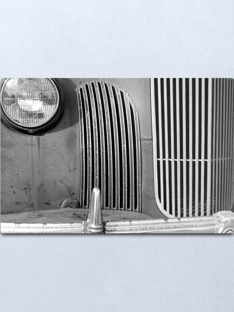 Alternate view of 68 Years Ago Metal Print