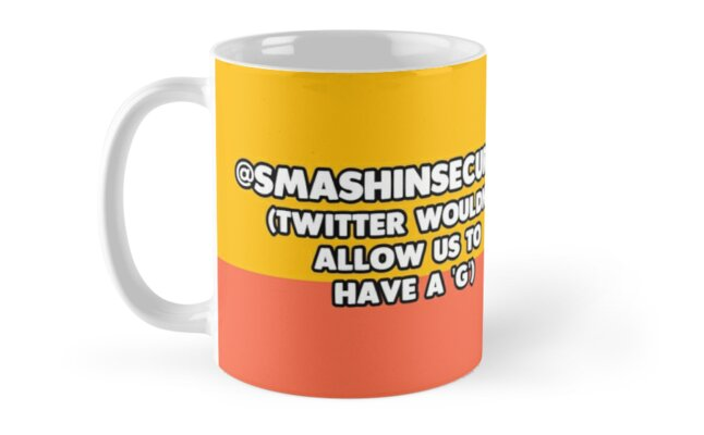 @SMASHINSECURITY - Twitter wouldn't allow us to have a 'G' by Smashing Security