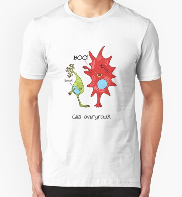 Cell culture problems: glial overgrowth by Cartoon Neuron