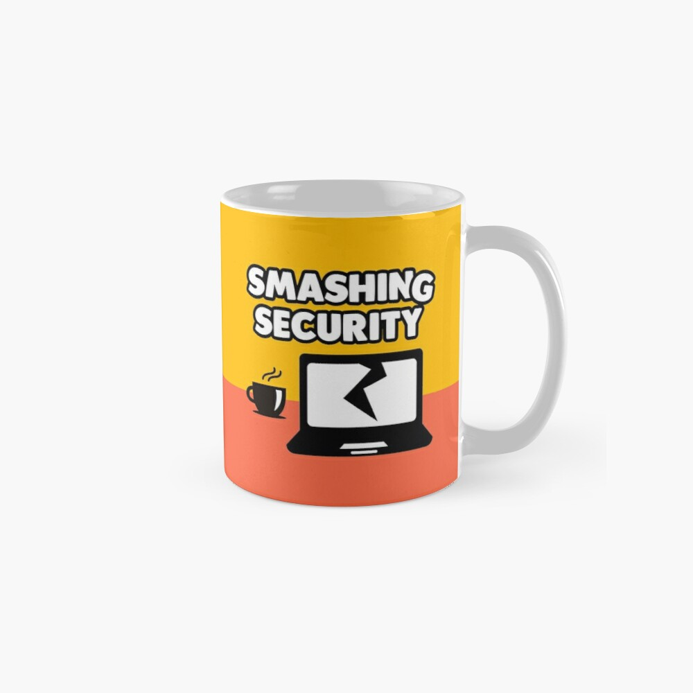 Pick of the week! Smashing Security Mug