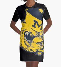 Michigan  Graphic T-Shirt Dress