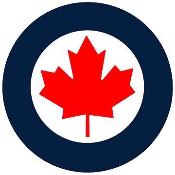 Royal Canadian Air Force Roundel by Quatrosales