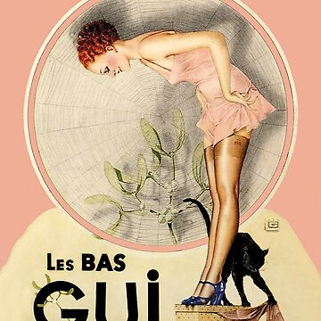 Vintage French Fashion Hosiery company, Art Deco by Glimmersmith