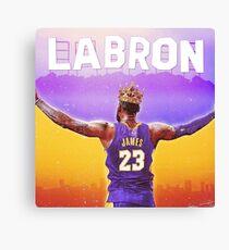 LABron Poster Canvas Print