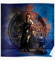 Captain Persephone Blue Poster