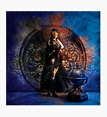 Captain Persephone Blue Photographic Print