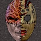 Horror Mask Mix-Up - 2018 by PETRIPRINTS