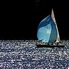 Sailing On Sparkling Water by Len Bomba