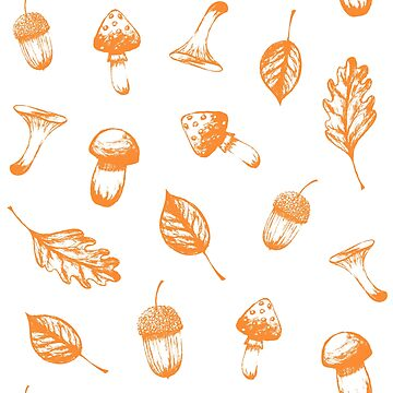 Autumn pattern by Anviczo