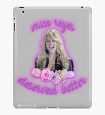 Erica Reyes Deserved Better iPad Case/Skin