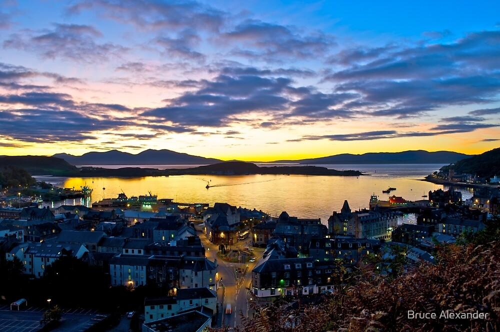 Oban, Scotland by Bruce Alexander
