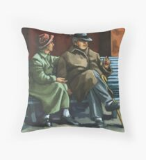 The Sharing of Memories Throw Pillow