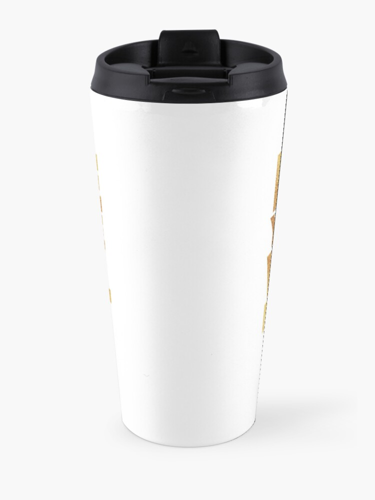 Alternate view of Election - I vote you vote we all must vote  Travel Mug