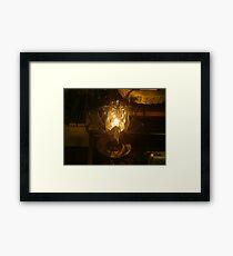 Lamp design Framed Print