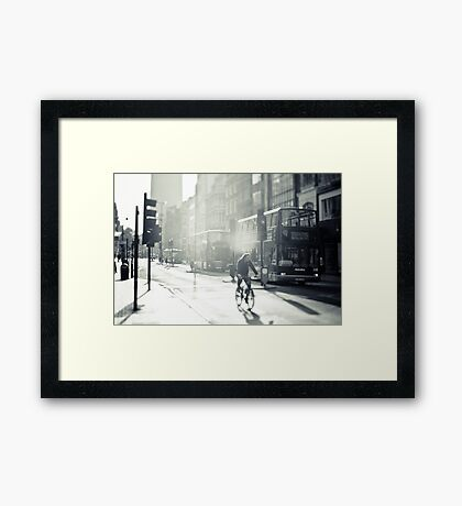 London in Black and White Framed Print