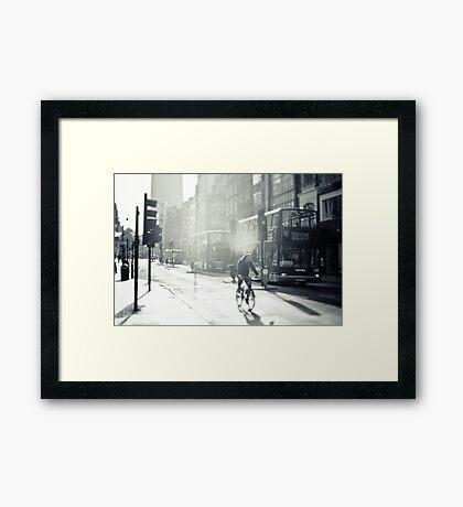 London in Black and White Framed Print