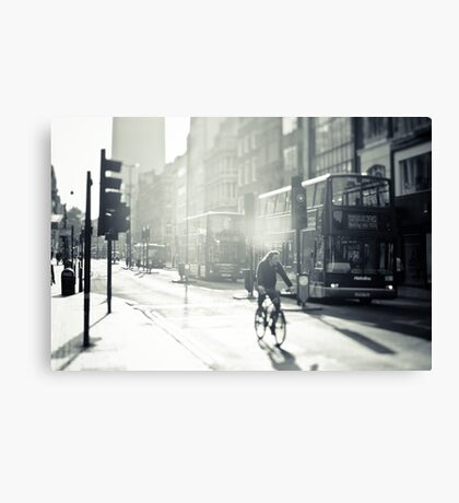 London in Black and White Canvas Print