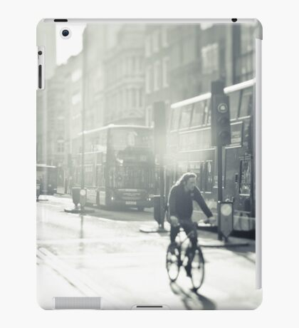 London in Black and White iPad Case/Skin