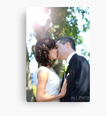 Sealed With A Kiss Canvas Print