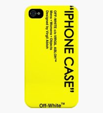 Off White Yellow Skin iPhone 4s/4 Case
