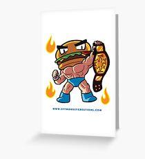 BTW - Jimmy Cheeseburger Greeting Card