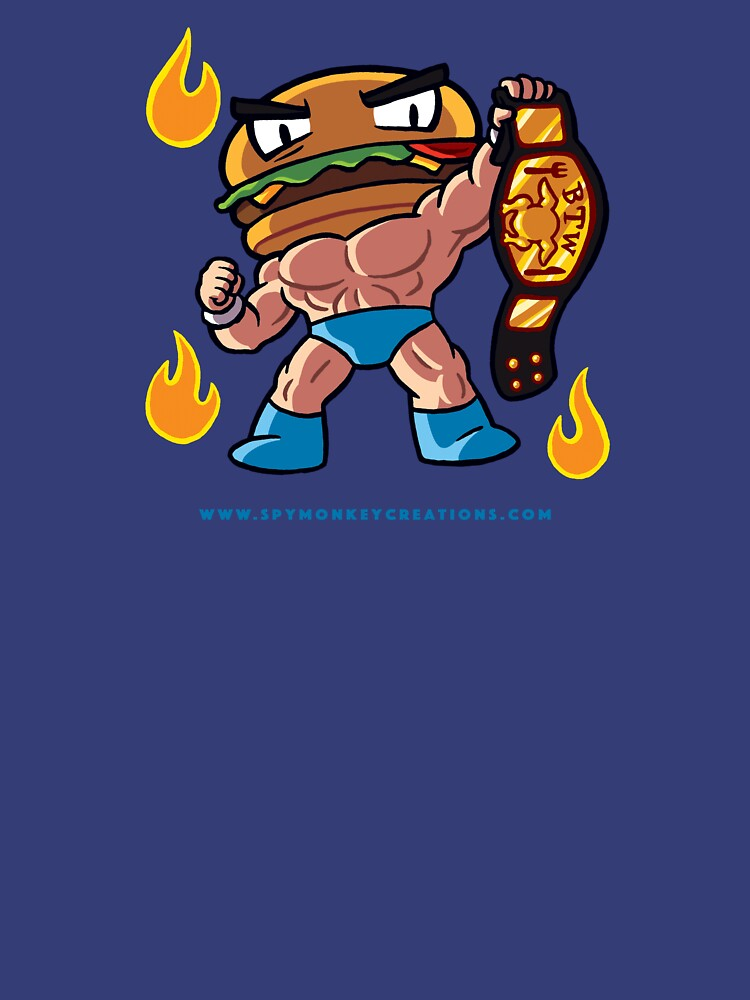 BTW - Jimmy Cheeseburger by spymonkey
