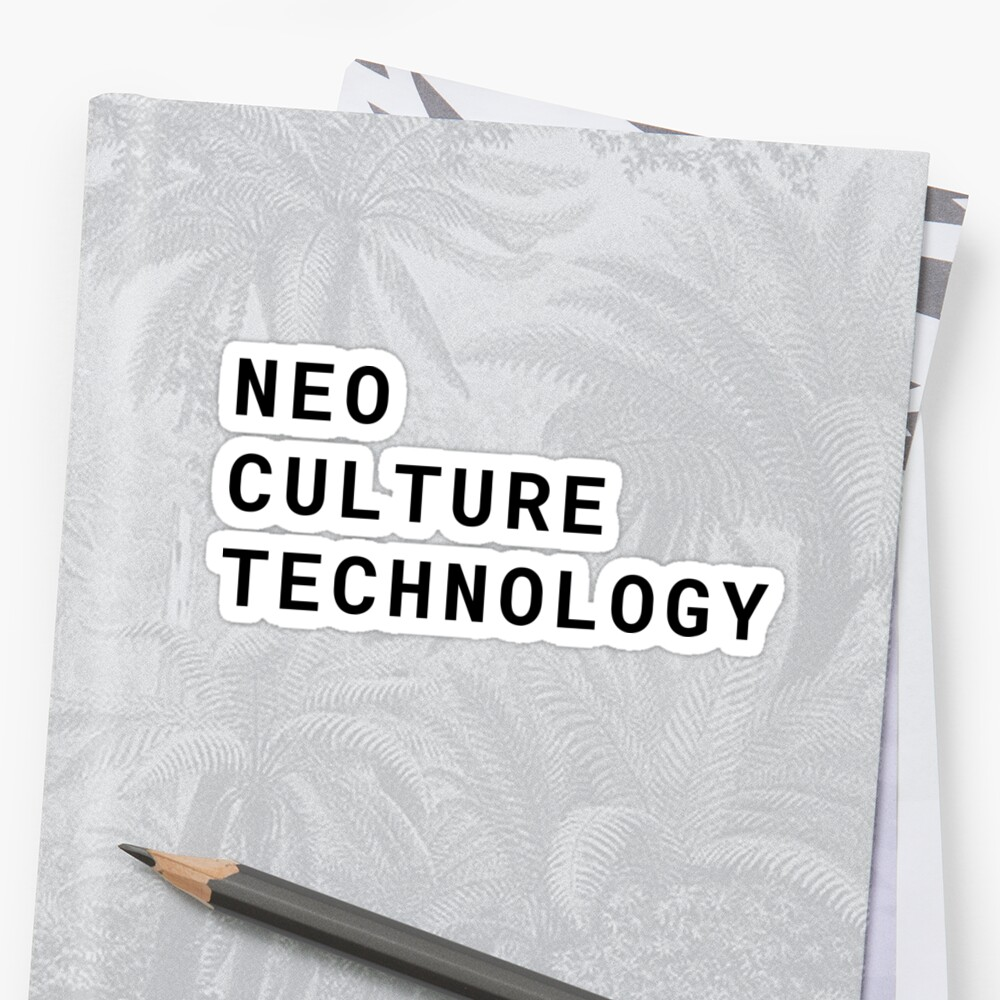 "Neo Culture Technology: ""NCT– Neo Culture Technology Type"" Stickers By"