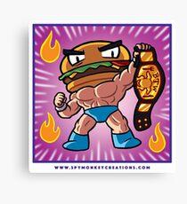 BTW - Jimmy Cheeseburger  Canvas Print