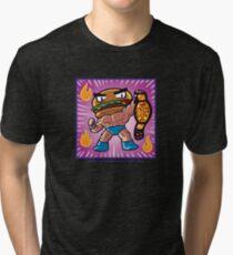 BTW - Jimmy Cheeseburger  Tri-blend T-Shirt