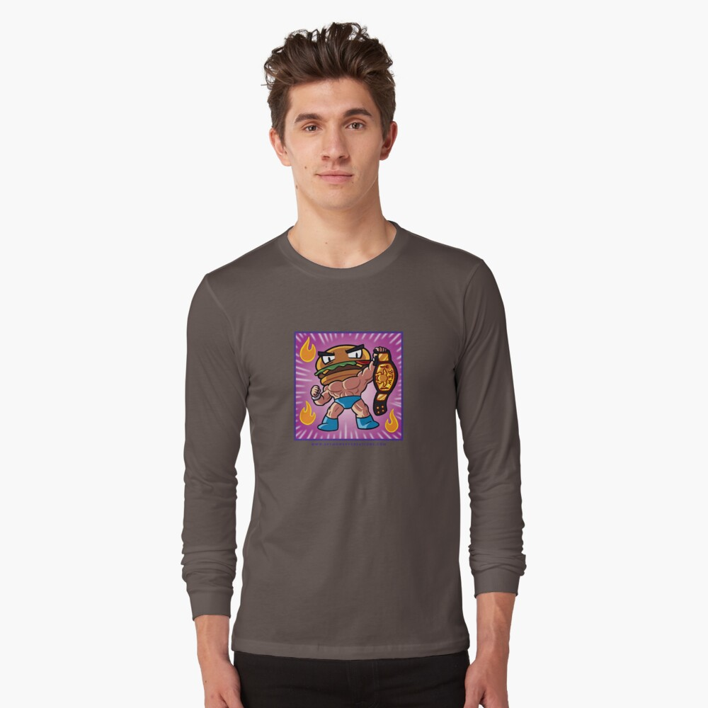 BTW - Jimmy Cheeseburger  Long Sleeve T-Shirt Front