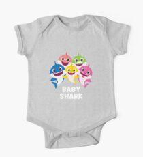 baby shark 55 One Piece - Short Sleeve
