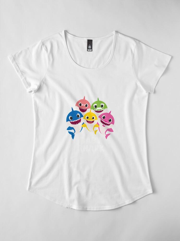 Alternative Ansicht von Babyhai 55 Premium Rundhals-Shirt