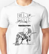 Dino Mania Triceratops T-Shirt