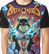 Battle Tribes Illustration  Graphic T-Shirt
