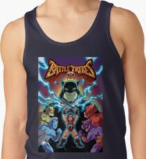 Battle Tribes Illustration (Distressed) Men's Tank Top