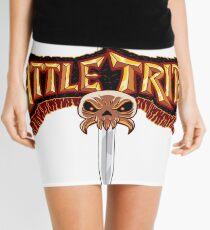 Battle Tribes Sword Logo  Mini Skirt