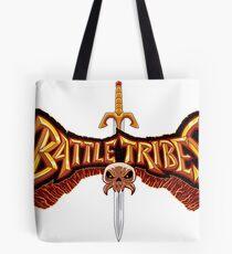 Battle Tribes Sword Logo  Tote Bag