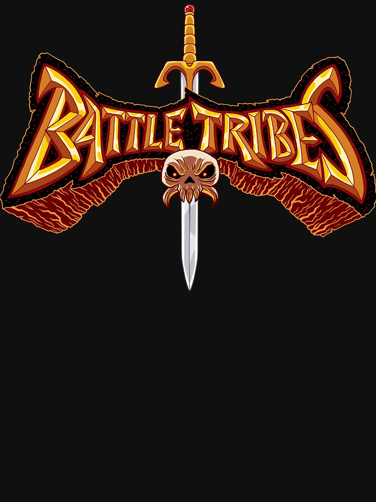 Battle Tribes Sword Logo  by spymonkey