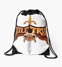 Battle Tribes Sword Logo  Drawstring Bag