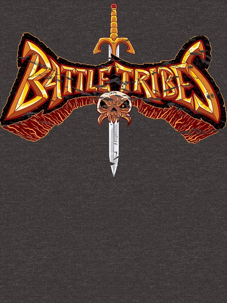 Battle Tribes Sword Logo (Distressed) by spymonkey