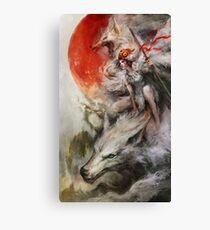 Prinzessin Mononoke Wolf Wölfe Kunst Leinwanddruck