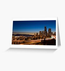 13 seconds of traffic Greeting Card