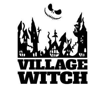 Village Witch V2 by TeeTimeGuys